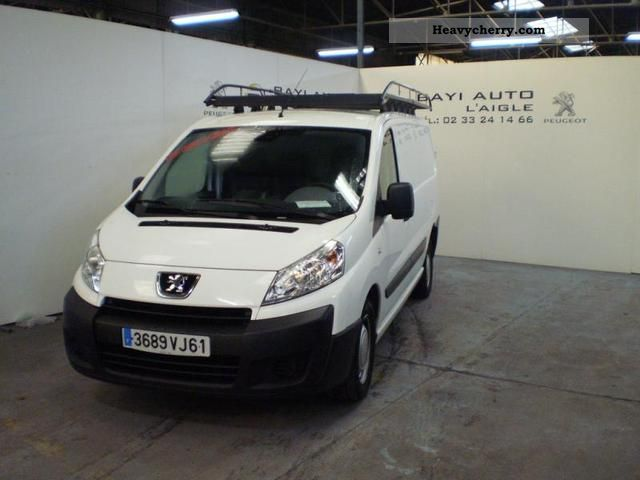 peugeot expert l2h1 229 fg hdi120 pk cd clim 2008 box type delivery van photo and specs. Black Bedroom Furniture Sets. Home Design Ideas