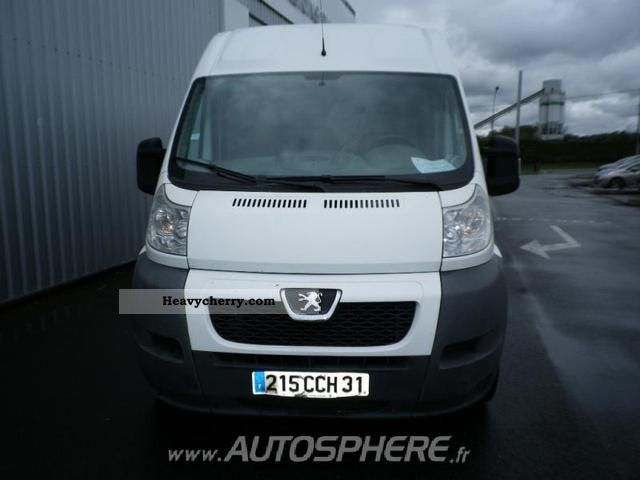 2007 Peugeot  Boxer 335 L2H2 Fg HDi120 CD Clim Van or truck up to 7.5t Box-type delivery van photo