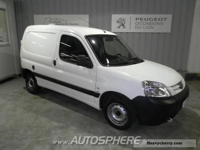 2008 Peugeot  Partners Fgtte 170C HDi90 Pk CD Clim Van or truck up to 7.5t Box-type delivery van photo