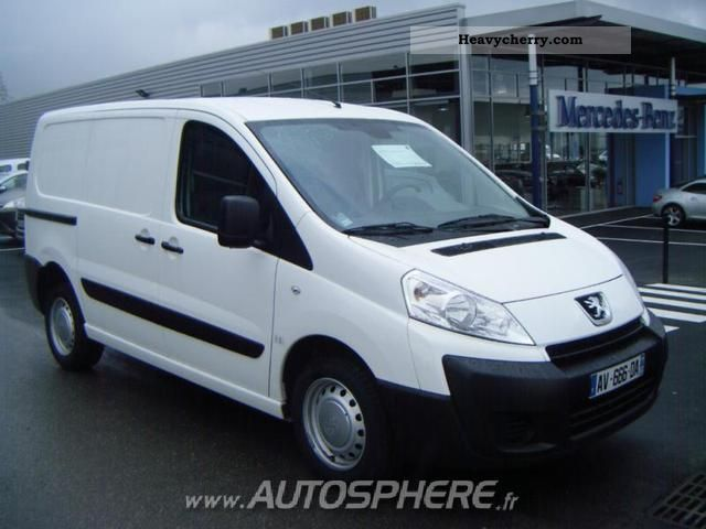 2010 Peugeot  Expert L1H1 227 Fg HDi120 Pk CD Clim Van or truck up to 7.5t Box-type delivery van photo