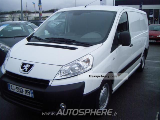 2010 Peugeot  Expert L2H1 229 Fg HDi120 CD Clim Susp P Van or truck up to 7.5t Box-type delivery van photo