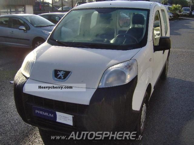 2008 Peugeot  Bipper HDi70 hours Van or truck up to 7.5t Box-type delivery van photo