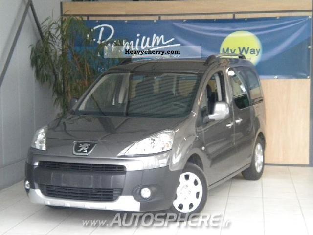 2008 Peugeot  Partner Tepee Outdoor 1.6 HDi90 Van or truck up to 7.5t Box-type delivery van photo