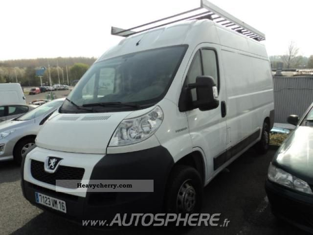 2008 Peugeot  Boxer 330 L2H2 Fg HDi120 CD Clim Van or truck up to 7.5t Box-type delivery van photo