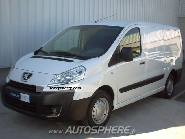 peugeot expert l2h1 229 fg hdi120 pk cd clim 2011 box type delivery van photo and specs. Black Bedroom Furniture Sets. Home Design Ideas