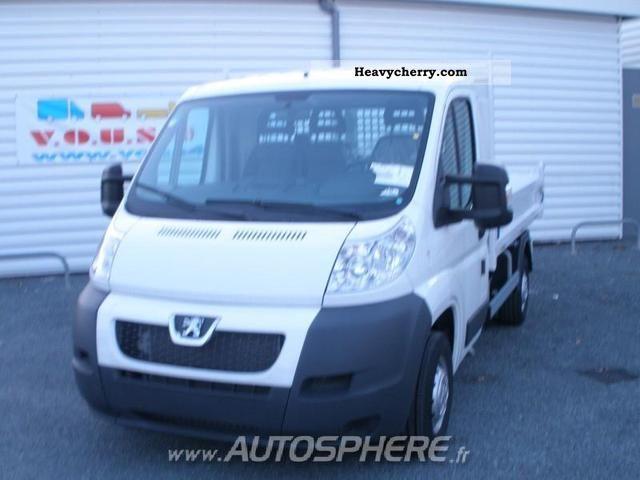 2011 Peugeot  Boxer Van or truck up to 7.5t Dumper truck photo