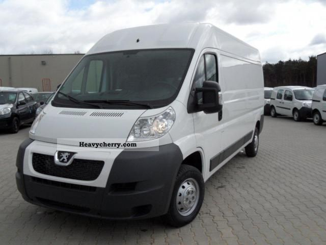 2012 Peugeot  Boxer L3H2 2.2 HDI 150HP 3.5T air, rear door ... Van or truck up to 7.5t Box-type delivery van - long photo