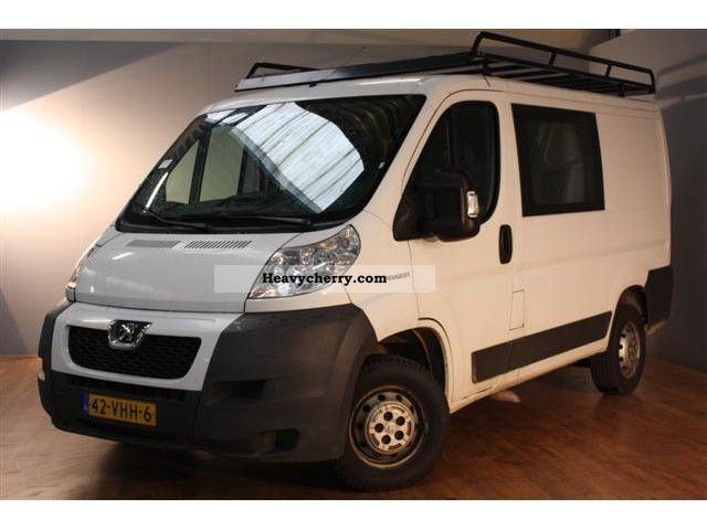 peugeot boxer 120 l1h1 2 2hdi d c 2007 box type delivery van photo and specs. Black Bedroom Furniture Sets. Home Design Ideas