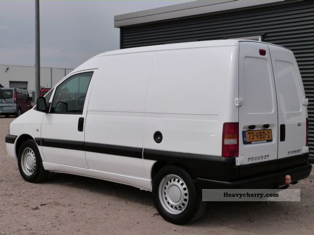 peugeot expert 2 0 hdi 220c avant 2007 other vans trucks up to 7 photo and specs. Black Bedroom Furniture Sets. Home Design Ideas