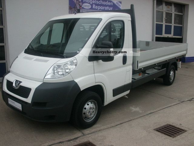 2011 Peugeot  Boxer 335 Platform 2.2 HDi 120 L3 Van or truck up to 7.5t Stake body photo