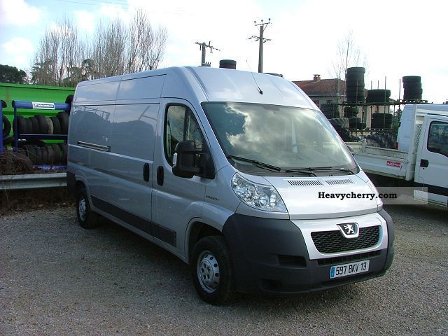 peugeot boxer l3h2 hdi 100cv 3t3 2008 box type delivery van photo and specs. Black Bedroom Furniture Sets. Home Design Ideas