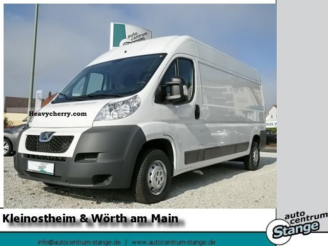 2011 Peugeot  Boxer 335 L3 H2 HDi 120 CRUISE CONTROL, RADIO Van or truck up to 7.5t Box-type delivery van - high and long photo