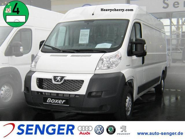 2011 Peugeot  35 Boxer L3H2 HDI FAP Van or truck up to 7.5t Refrigerator box photo