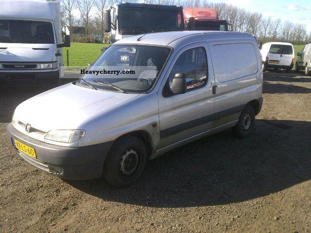 1998 Peugeot  PARTNER 1.9D 170C, NET EXPORTS € 950, = Van or truck up to 7.5t Box-type delivery van photo