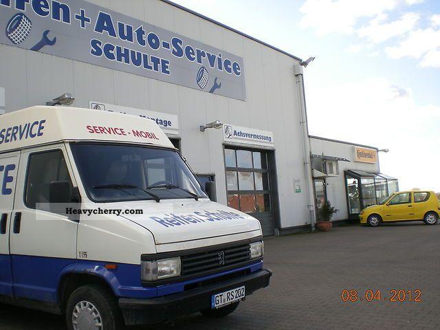 1992 Peugeot  J 5 Van or truck up to 7.5t Box-type delivery van - high photo