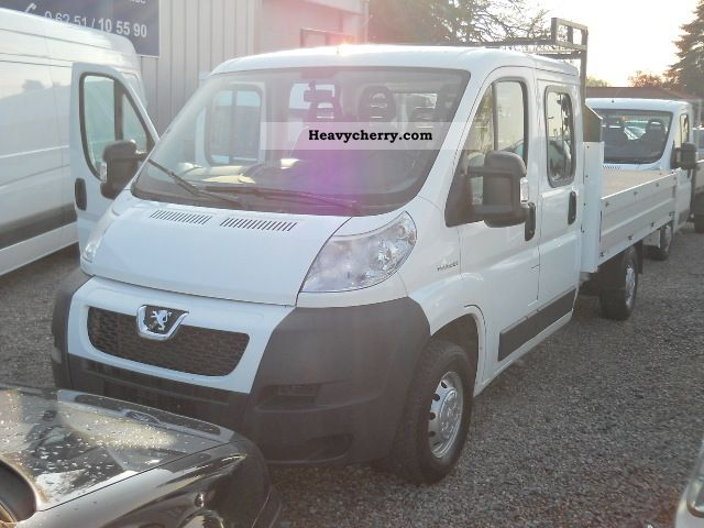 2007 Peugeot  Boxer 335 MAXI DOKA 3.5m flatbed 33TKM! Van or truck up to 7.5t Stake body photo