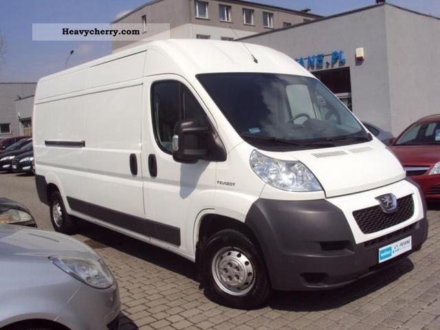 peugeot boxer l3h2 2009 other vans trucks up to 7 photo and specs. Black Bedroom Furniture Sets. Home Design Ideas