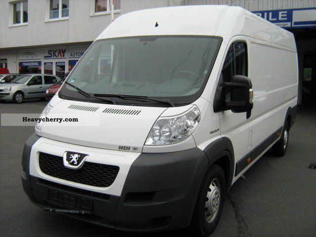2009 Peugeot  Boxer 3.0 HDI L4H2 Luftsitz 1.Hand Van or truck up to 7.5t Box-type delivery van - high and long photo