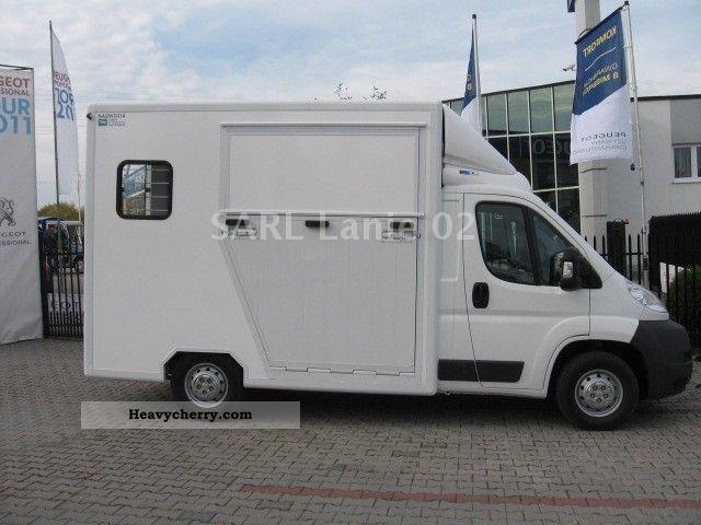2012 Peugeot  BOXER L2H1 120 CV Van de chevaux transport Van or truck up to 7.5t Cattle truck photo