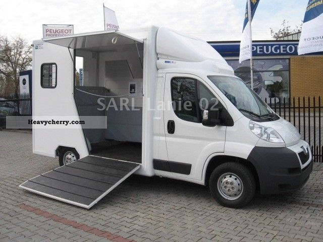 peugeot boxer l2h1 120 cv van de chevaux transport 2012