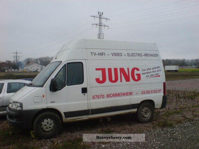 2003 Peugeot  Boxer 2.2 HDI HIGH ROOF-truck Van or truck up to 7.5t Box-type delivery van - high and long photo