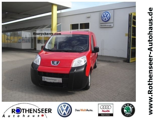 2008 Peugeot  Bipper 1.4 box Van or truck up to 7.5t Box-type delivery van photo