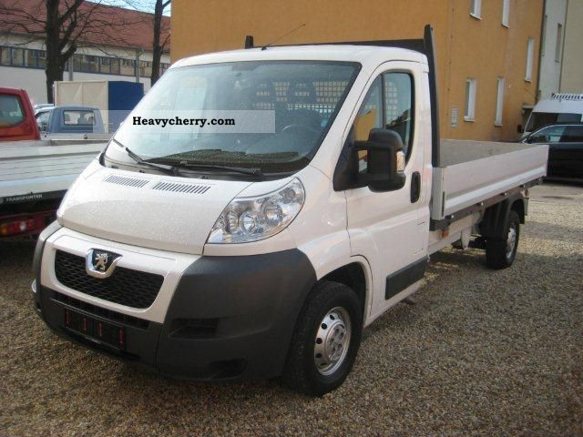 2008 Peugeot  Boxer 2.2 HDi, L4, long platform, DPF Van or truck up to 7.5t Stake body photo