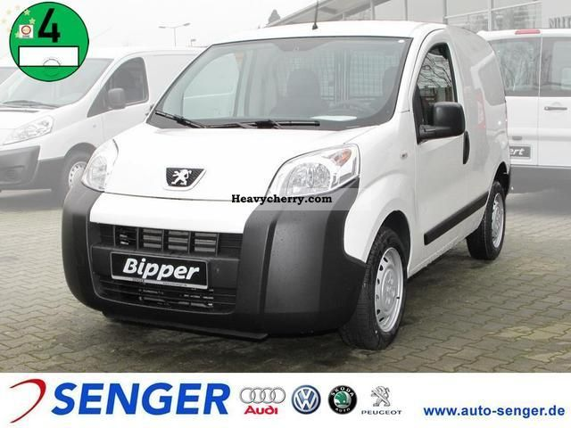 2010 Peugeot  Bipper 75 PS TZ comfort \u0026 Electrical Package Van or truck up to 7.5t Box-type delivery van photo