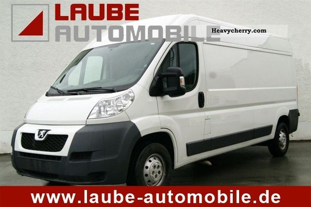 2010 Peugeot  Boxer L3H2 2.2 HDI 335 C III air handling Van or truck up to 7.5t Box-type delivery van - long photo