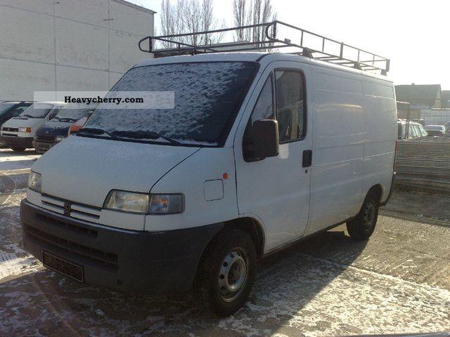 1995 Peugeot  Boxer Van or truck up to 7.5t Box-type delivery van photo