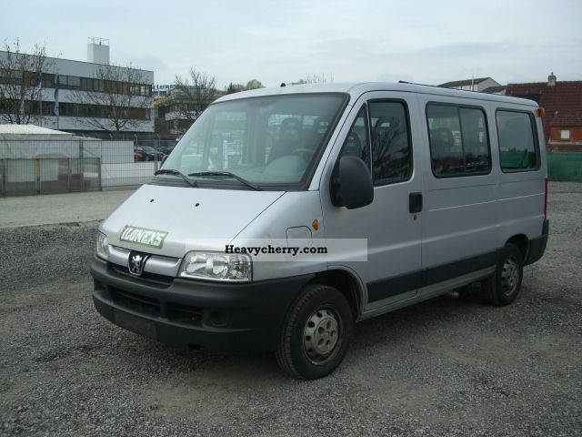peugeot boxer hdi 9-seater 2005 estate - minibus up to 9 seats truck