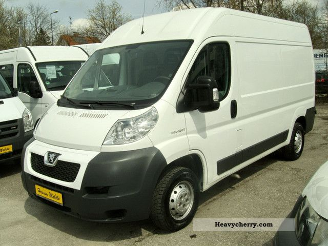 2006 Peugeot  Boxer 2.2HDI High + * long * 100,000 km * DPF 2.Hand Van or truck up to 7.5t Box-type delivery van - high and long photo