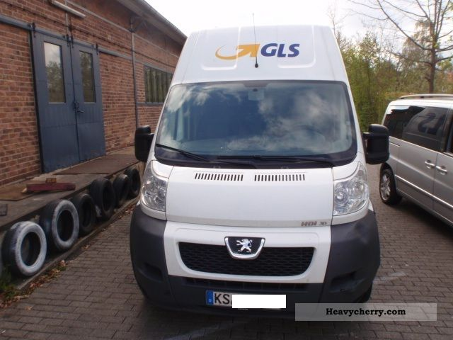 2008 Peugeot  Boxer 3.0 HDI MAXI high roof rear view camera Van or truck up to 7.5t Box-type delivery van - high and long photo