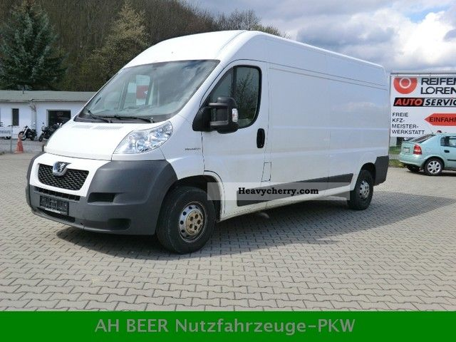 2006 Peugeot  Boxer 2.2 HDI L4H2 panel vans Van or truck up to 7.5t Box-type delivery van - high and long photo