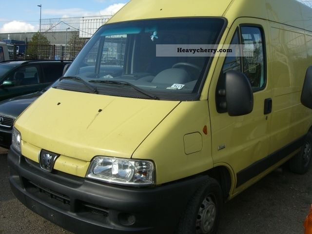 2004 Peugeot  Boxer 2.0 HDI engine failure Van or truck up to 7.5t Box-type delivery van - high photo