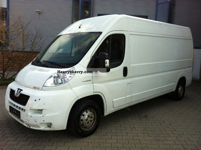 2008 Peugeot  Boxer 3.0 HDI * MAXI * HIGH * LONG * AIR * Van or truck up to 7.5t Box-type delivery van - high and long photo