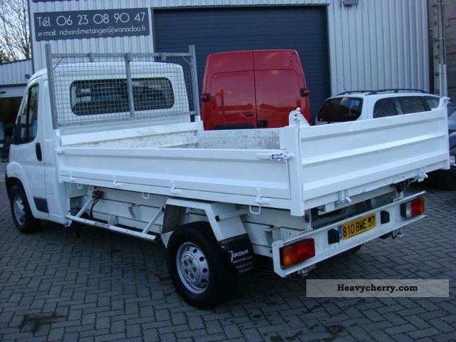 2007 Peugeot  boxer Van or truck up to 7.5t Roll-off tipper photo
