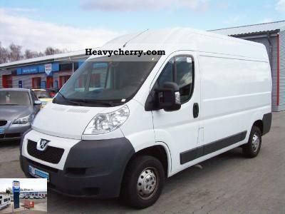 peugeot boxer 333 l2h2 2 2 hdi 2010 box type delivery van photo and specs. Black Bedroom Furniture Sets. Home Design Ideas