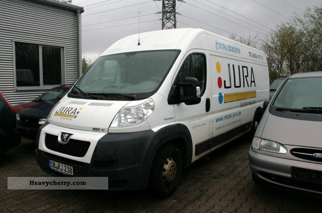 2008 Peugeot  Boxer 3.0 HDI L4 H2 Air High Cross Van or truck up to 7.5t Box-type delivery van - high and long photo