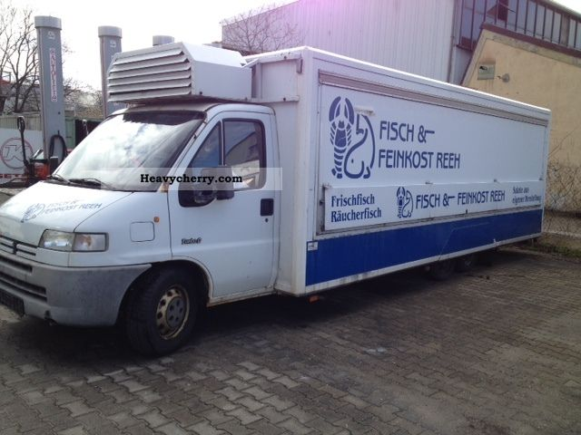 1996 Peugeot  Boxer 2.5 Diesel 7.5 m long retail space Van or truck up to 7.5t Traffic construction photo