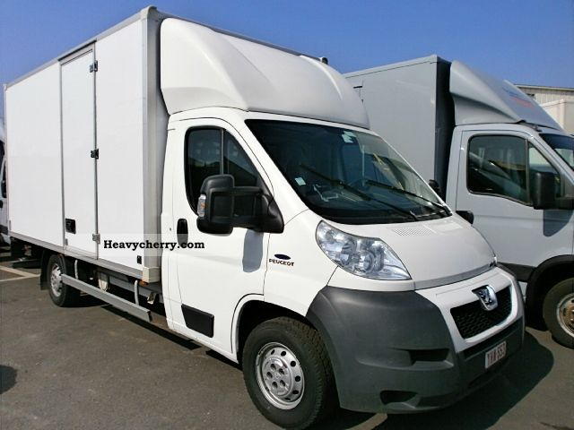 2008 Peugeot  Boxer 3.0 HDI LWB case with Van or truck up to 7.5t Box photo
