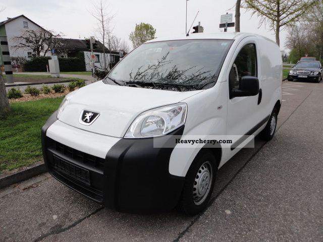 peugeot bipper climate net 3800 eur 2008 box type delivery van photo and specs. Black Bedroom Furniture Sets. Home Design Ideas