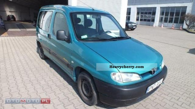 2000 Peugeot  Partner Combi 1.8 Space Van or truck up to 7.5t Other vans/trucks up to 7 photo