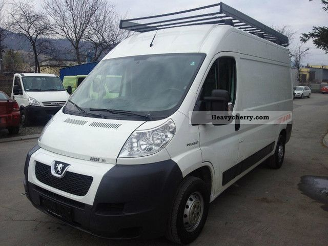 peugeot boxer l2h2 160hp 3 0 diesel air 2008 2008 box type delivery van high and long photo. Black Bedroom Furniture Sets. Home Design Ideas