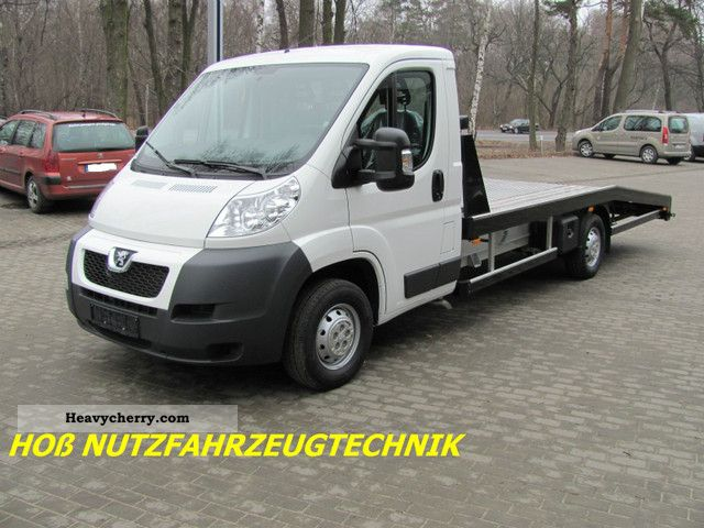 2011 Peugeot  BOXER 2.2HDI DPF CLIMATE EMERGENCY TOW Van or truck up to 7.5t Breakdown truck photo