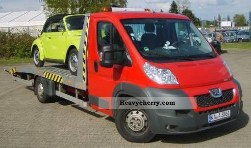 2011 Peugeot  Boxer Car Transporter Van or truck up to 7.5t Car carrier photo