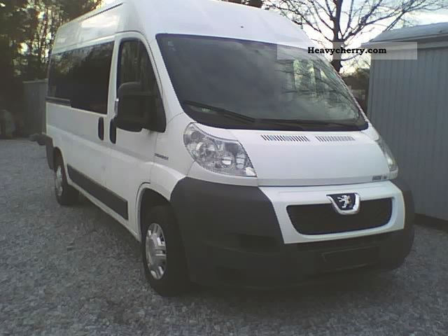 2009 Peugeot  * Boxer * 3.0 * HDI * 6Gang * Climate * 9Sitze * Net: 10500 € *. Van or truck up to 7.5t Estate - minibus up to 9 seats photo