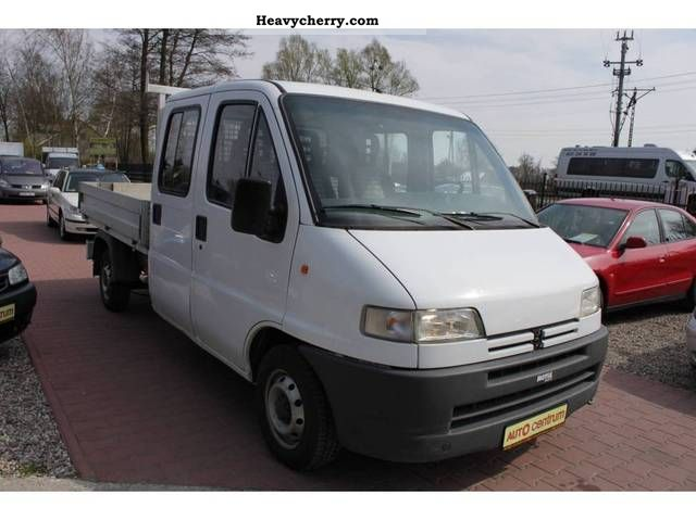1996 Peugeot  BOXER Kabina DOUBLE-STAN PERFECT! Van or truck up to 7.5t Box photo