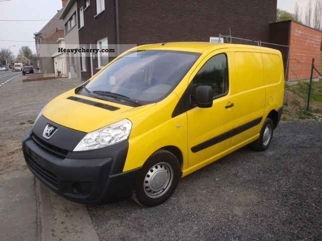 2008 Peugeot  Expert 1.6 HDI CLIMATE BEZWYPADKOWY Van or truck up to 7.5t Box-type delivery van photo