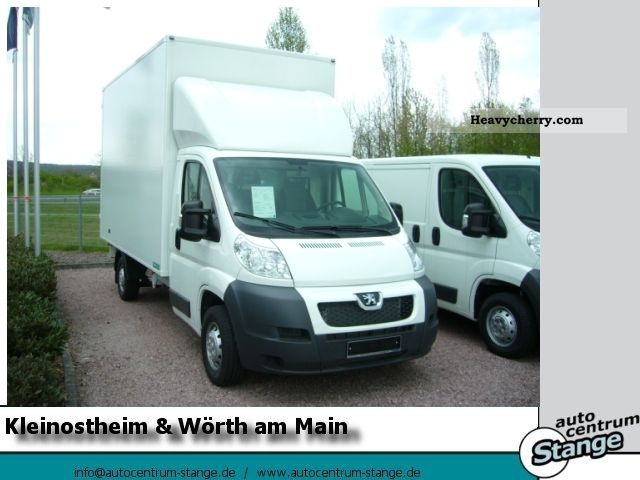 2011 Peugeot  Boxer 2.2 HDi FAP 130 335 L4 case conversion AIR Van or truck up to 7.5t Box photo
